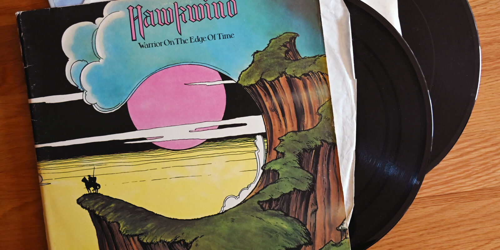 hawkwind warrior of the edge of time